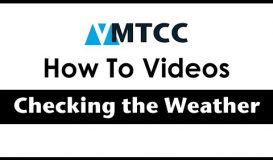 How to check the Weather Forecast