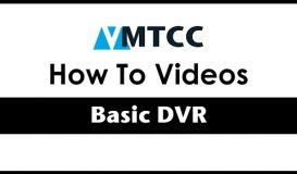 How to use your DVR
